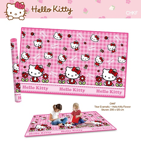 Matras Evamat Hello Kitty Pink
