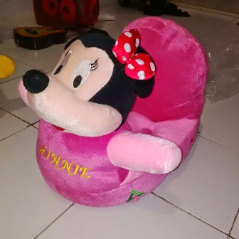 Boneka Sofa Odong odong ABC Mini Mouse