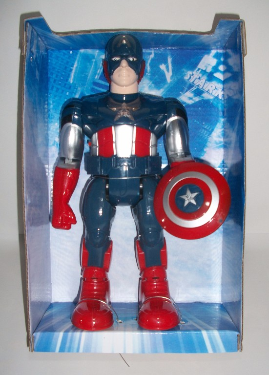 Action Figure Super Hero Captain Amerika
